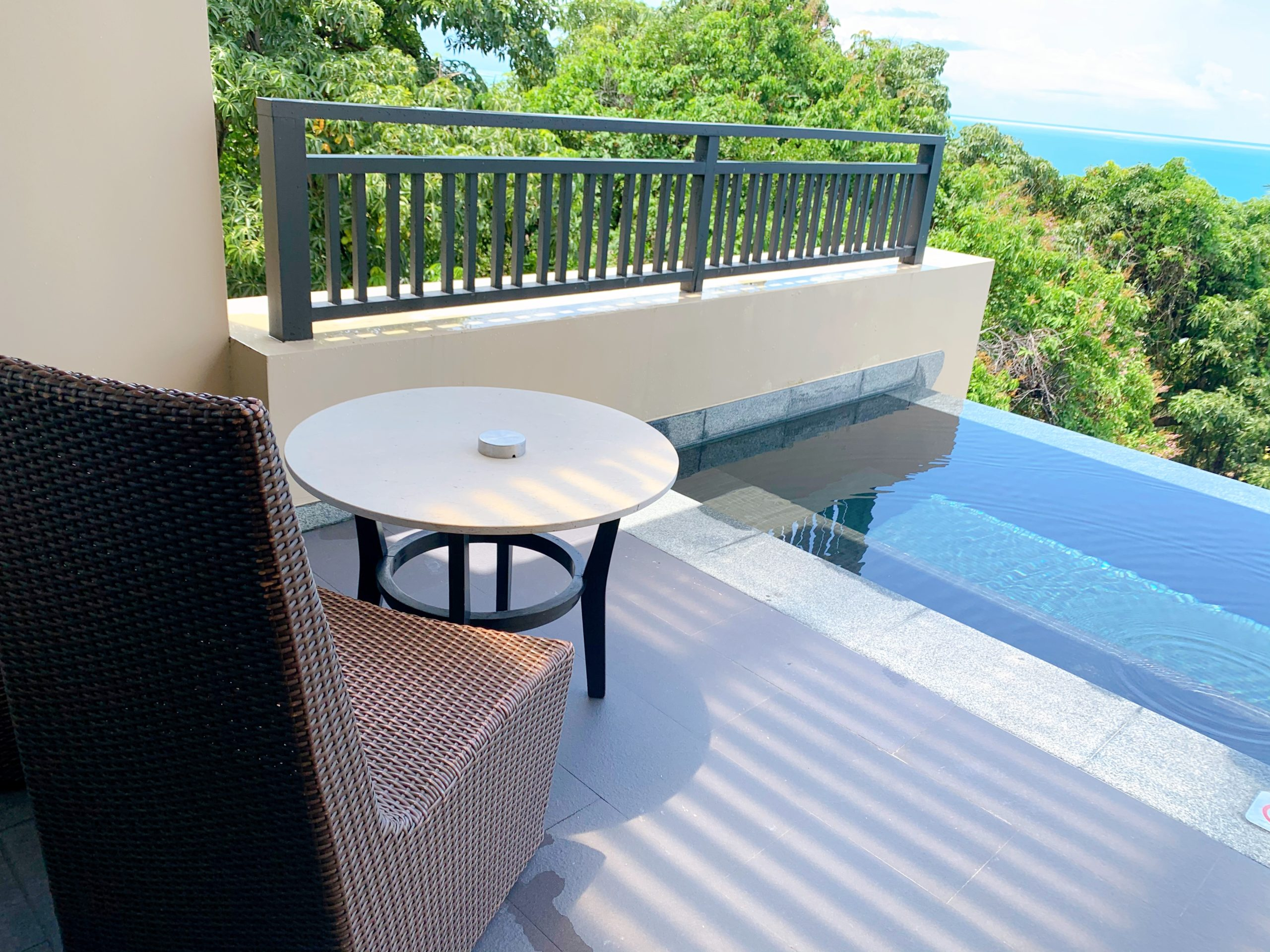Vana Belle, A Luxury Collection Resort, Koh Samui オーシャンプール, 1ベッドルームスイート